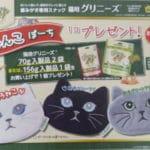 猫用グリニーズ お買い上げで にゃんこポーチ プレゼント!